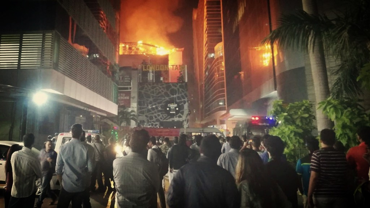At least 14 people were killed and as many injured after a major fire engulfed Kamala Mills compound in Lower Parel, Mumbai.