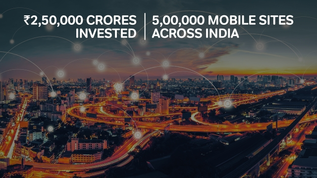 In the last 3 years, Airtel has doubled its network strength.