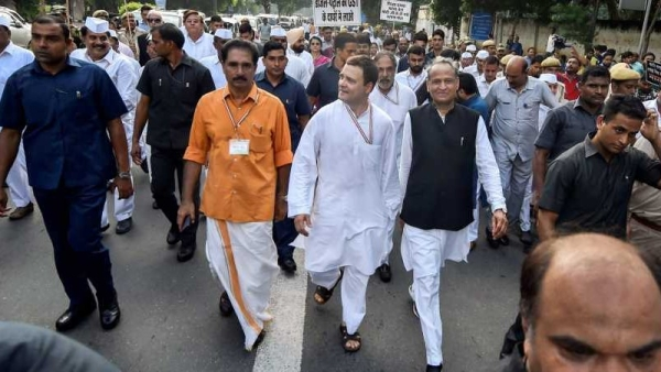The Congress, led by Rahul Gandhi, had called for a Bharat Bandh to protest against the rising fuel prices, on Monday, 10 September.