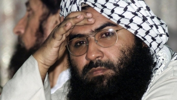 China has repeatedly blocked India's bid at the UN to list Masood Azhar as a global terrorist.
