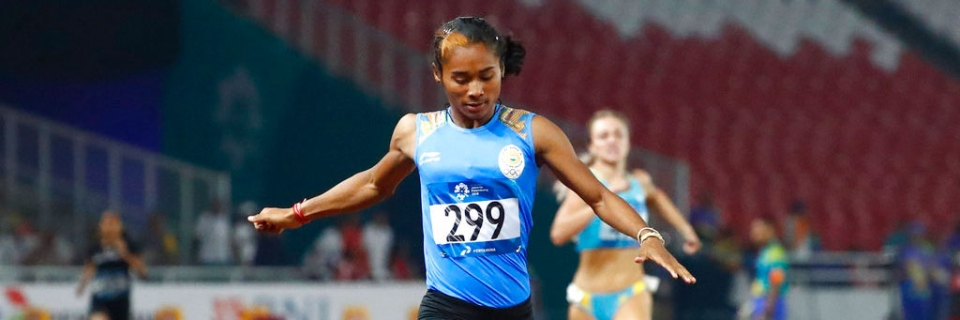 Asiad Gold Medallist Hima Das Opts Out of IAAF Continental