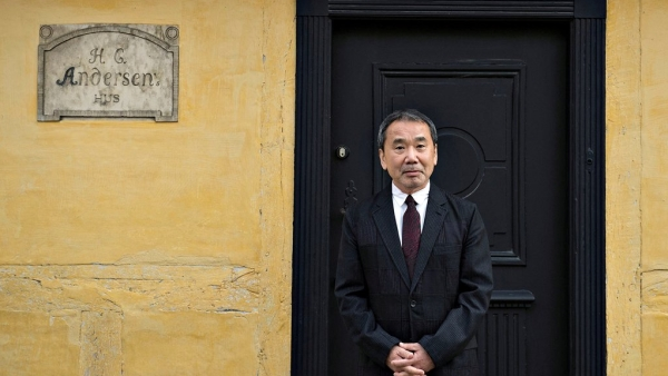 Japanese author Haruki Murakami.