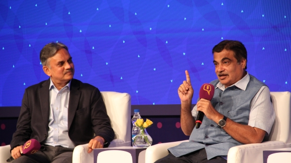 At Quint Hindi and Google's 'BOL - Love Your Bhasha' event, Union Minister Nitin Gadkari speaks exclusively to Quint's Editorial Director Sanjay Pugalia