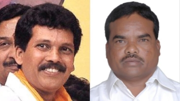 TDP leaders Kidari Sarveswara Rao (Left) and Siveri Soma (pic 2), present and former MLA from Araku respectively were shot dead.