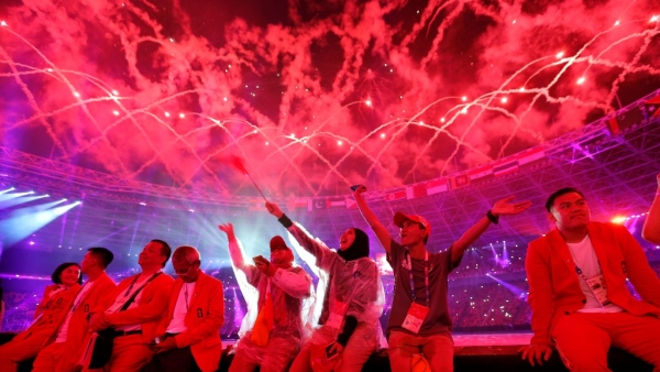 Indonesia Bids Spectacular Farewell to Asian Games