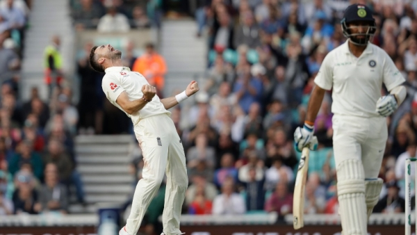 English Pacers on Target as Indian Top-Order Crumble Yet Again