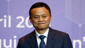 Founder and chairman of Alibaba, Jack Ma.
