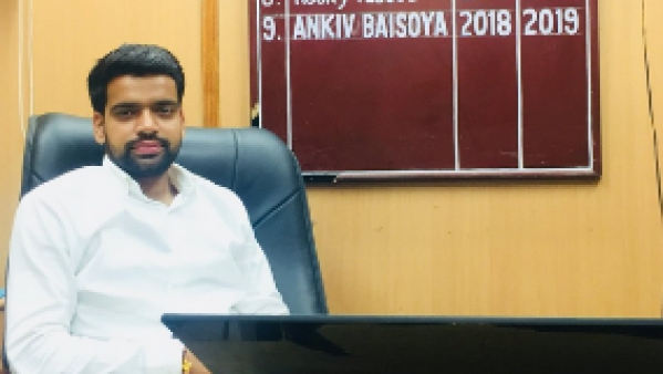 Ankiv Baisoya, who was elected the DUSU president in September, resigned from his post on after ABVP reportedly asked him to do so.