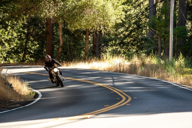 The Continental GT and Interceptor are fun to ride on twisty roads.