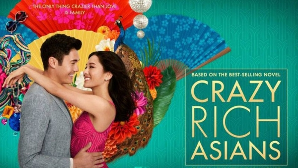 Here's a poster of <i>Crazy Rich Asians.</i>