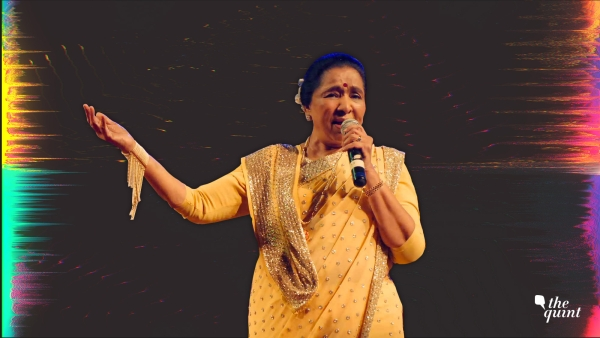 Image of Asha Bhosle used for representational