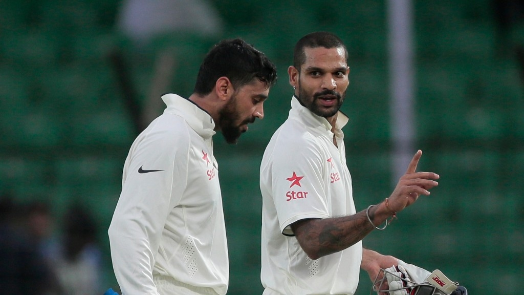 Shikhar Dhawan and Murali Vijay have played in 34 and 44 Tests respectively