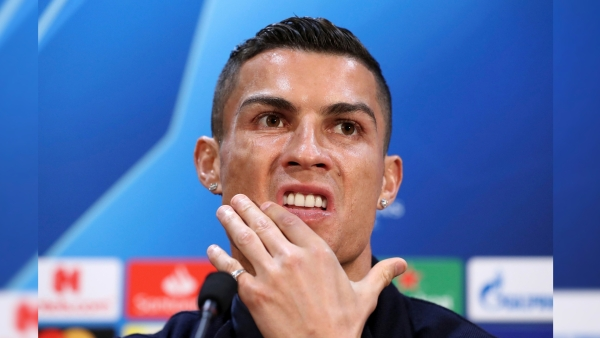 Cristiano Ronaldo defended himself against the rape allegation.