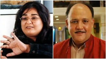 Vinta Nanda (left) could have to undergo a medical test nearly 20 years after she was allegedly raped by Alok Nath (right).