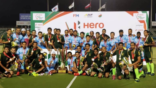 India and Pakistan have been locked in a war of words over how the decision was reached to abandon the Asian Champions Trophy final.
