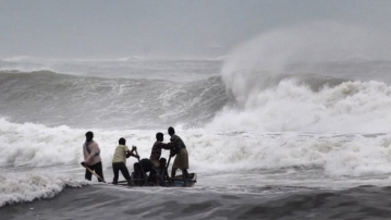 Heavy rains  lashed Odisha as Cyclone Titli made landfall early on Thursday. Image used for representational purpose.