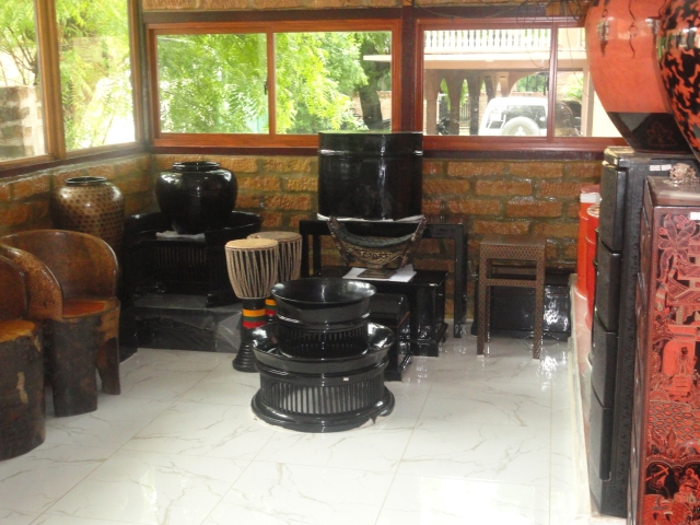 Lacquer workshop Bagan.