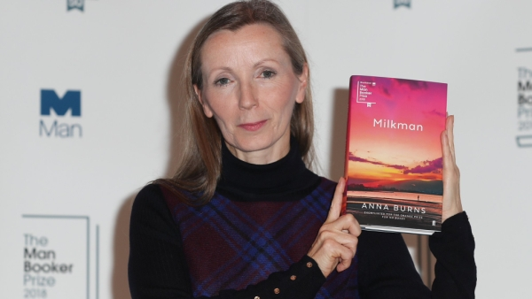 Burns is the first writer from Northern Ireland to win the 50,000-pound ($66,000) prize.