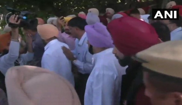 Chief Minister Amarinder Singh visited the site of the accident around noon on 20 October.