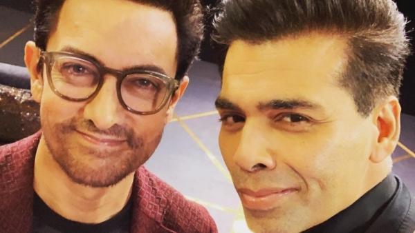 Aamir Khan and Karan Johar