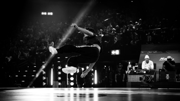Lilzoo performing at the Red Bull BC One 2018 World Finals