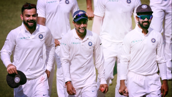 India play West Indies in the second Test at Hyderabad.
