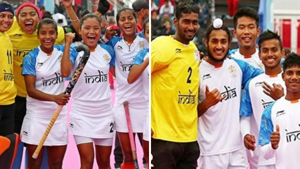 Indian Men's & Women's Hockey Teams Win 1st Youth Olympic Silvers