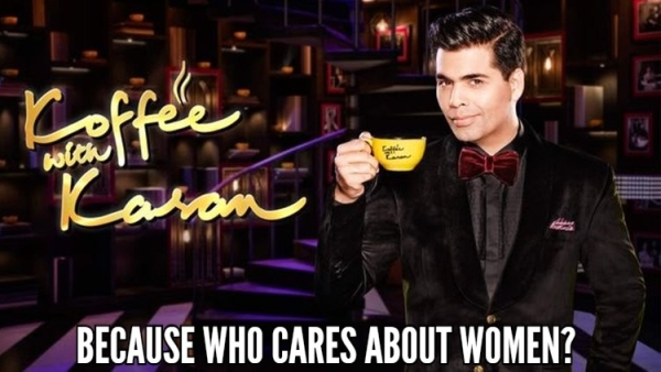 How Koffee With Karan Would Look If It Did NOT Ignore #MeToo