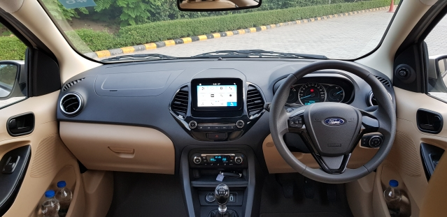 The Aspire Titanium Plus gets a touch-screen with Ford's Sync 3 system.