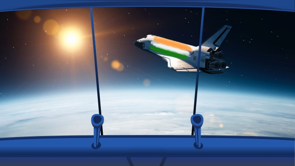 Are you ready for a quick space travel? Get in this desi spaceship to explore India's starry achievements.