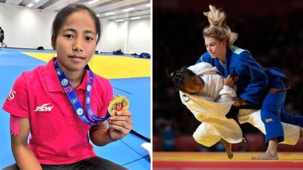 Thangjam Tababi Devi Wins India's First Judo Medal at an Olympics