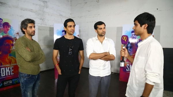 Jim Sarbh, Gulshan Devaiah and Neil Bhoopalam.
