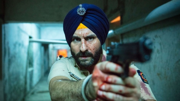 A still from <i>Sacred Games </i>with Saif Ali Khan.