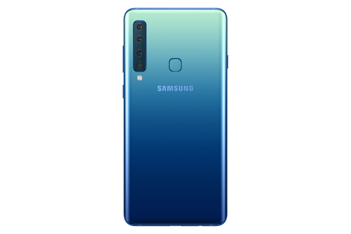 Samsung Launches The Worlds First Four Camera Smartphone Quint B310 Galaxy A9 Comes With A 3800mah Battery