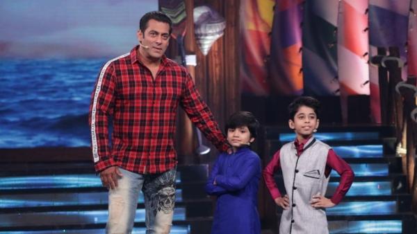 Salman Khan with his celeb guests on <i>Bigg Boss Weekend Ka Vaar.</i>