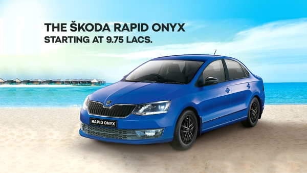 Roll out the Carpet for the New Skoda Rapid Onyx