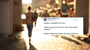 A civil rights activist asked a simple question on Twitter, and the responses are chilling and insightful. Especially in the #MeToo era.