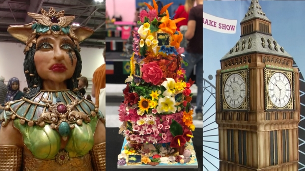 Watch: Magnificent Cake Art at London's 'Cake and Bake Show'