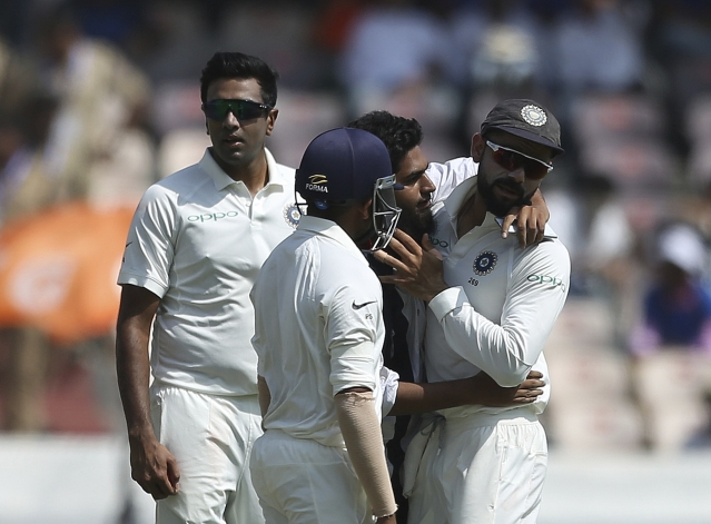 Fans breaching security cordon to get up close with Virat Kohli is becoming a new norm.