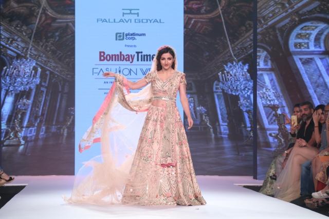 Soha Ali Khan walks in style.