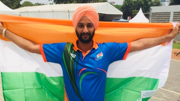 Archer Harvinder Singh bagged a gold in the men's individual recurve event.