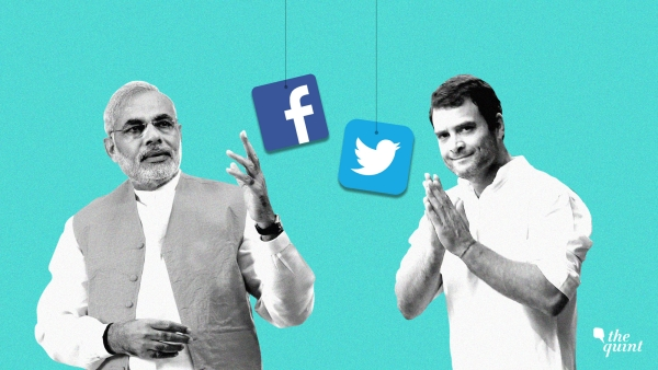Congress vs BJP Battle in 2019 Will Play Out on Social Media