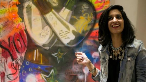 Digital artist Shehzil Malik.