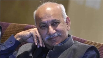 File photo of MoS for External Affairs MJ Akbar.