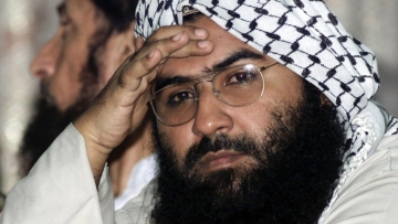 China earlier defended blocking India's bid at the UN to list Masood Azhar as a global terrorist.
