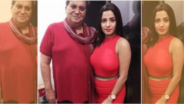 Subhash Ghai with Kate Sharma.