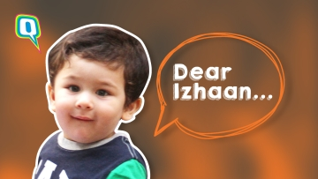 Taimur gives Izhaan with some celebrity baby advice.