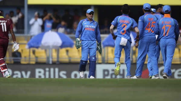 India won the first ODI in Guwahati on Sunday to go one up in the five-match series.