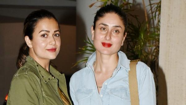 Amrita Arora and Kareena Kapoor make a statement in red.