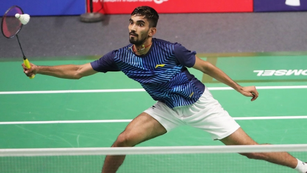 Kidambi Srikanth crashed out of the Denmark Open after losing to Kento Momota in the semis.